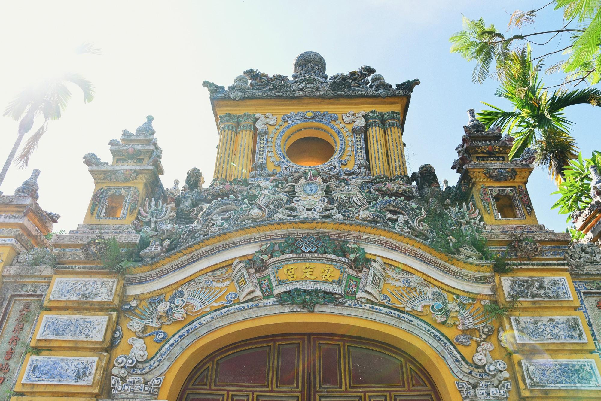 Inside Hue palace of Vietnam's last king