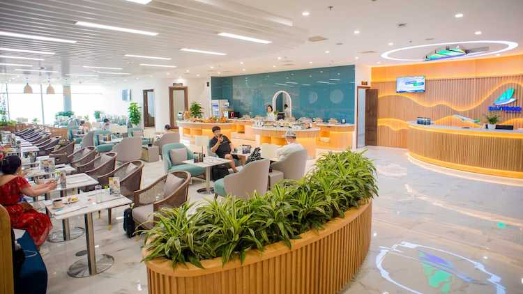 The Business Lounge of Bamboo Airways
