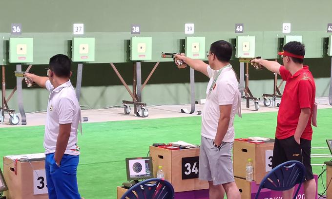 Vietnamese veteran shooter exits Tokyo Olympics