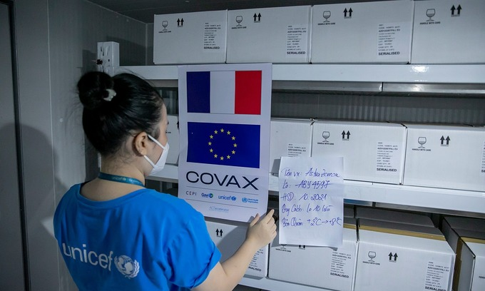 France, Italy donate 1.4 mln vaccine doses to Vietnam