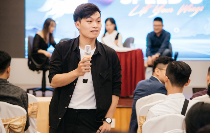 Dung is now CEO of a company focusing on recruitment and career orientation for students. Photo courtesy of Hoang Dung