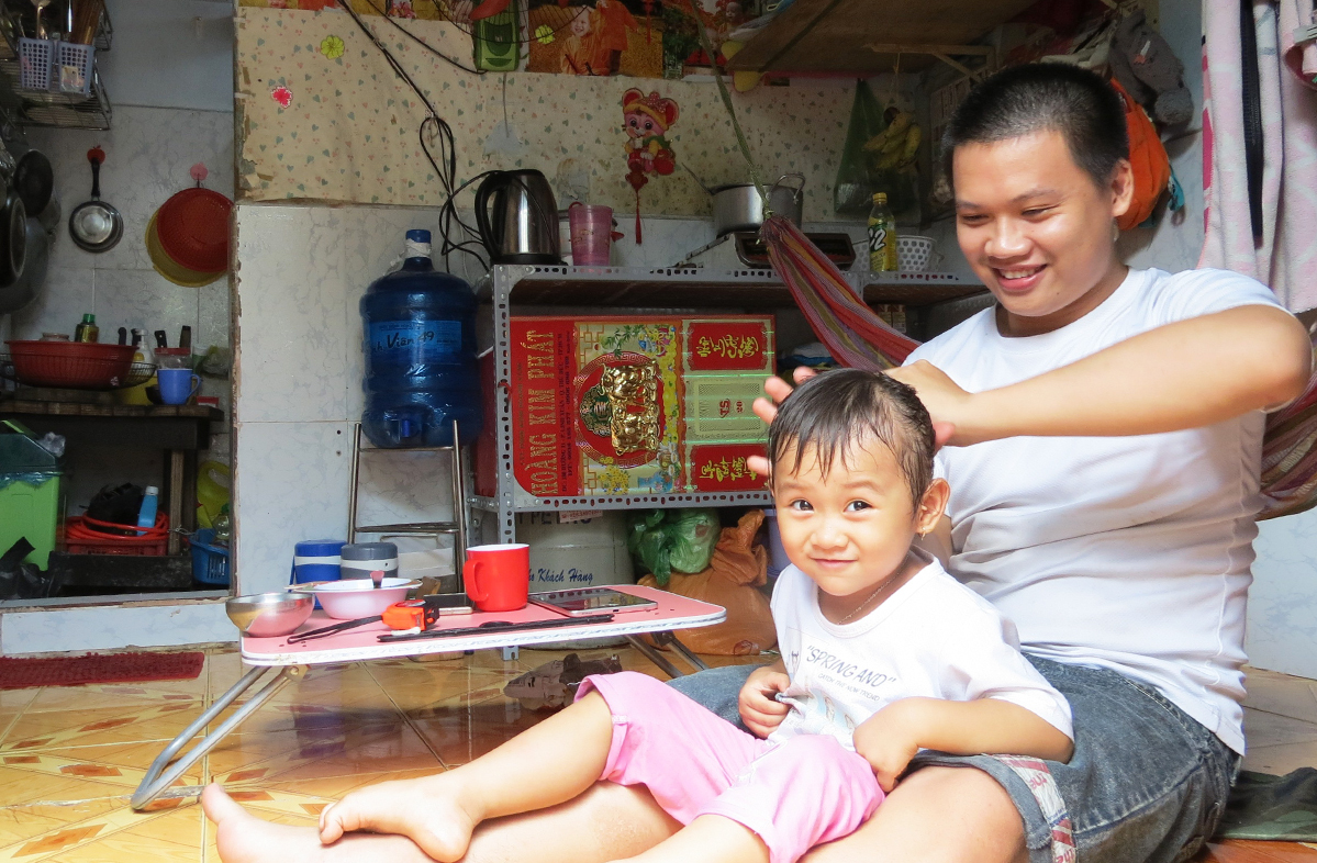Migrants tell of life inside shoebox apartments